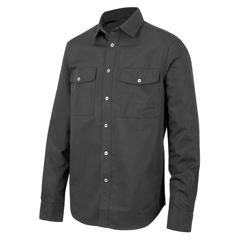 Overhemd Xl.Overhemd Snickers 8513 Zwart Xl