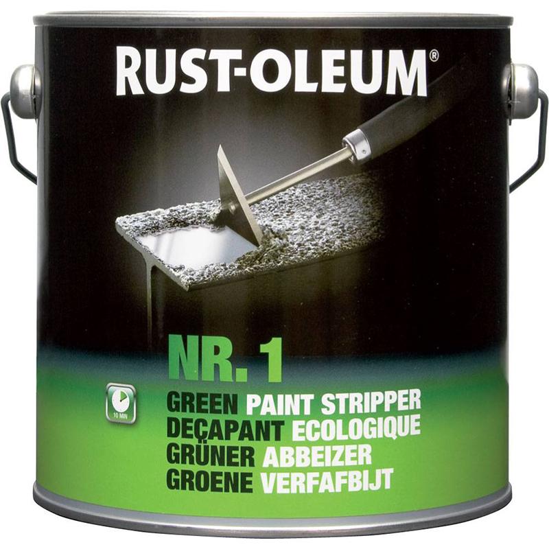 Rust Oleum Verfafbijt.Verfafbijt Ecologisch Rust Oleum Nr 1 750ml Green