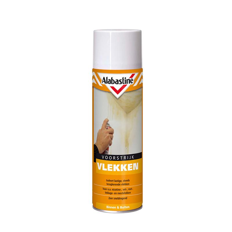 Alabastine voorstrijk vlekken verdunnen